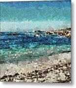 Down By The Sea 2 Metal Print