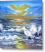 Down Came The Sun  Metal Print