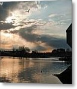 Down Of Portsmouth Metal Print
