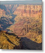 Down The Canyon Metal Print