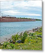 Downbound At Mission Point 3 Metal Print
