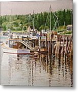 Downeast Reflections Metal Print
