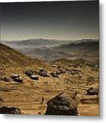 Downhill Metal Print by Aaron Bedell