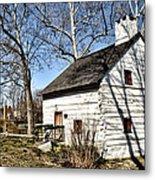 Downingtown Log House 1701 Metal Print
