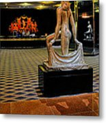 Downstairs Lobby Radio City Music Hall Metal Print