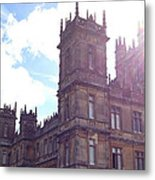 Downton Abbey In A Ray Of Sunlight Metal Print