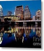 Downtown At Dusk Metal Print