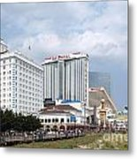 Downtown Atlantic City New Jersey Metal Print