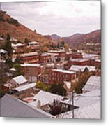 Downtown Bisbee Metal Print