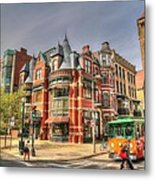 Downtown Boston. Metal Print