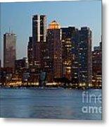 Downtown Boston Skyline Metal Print
