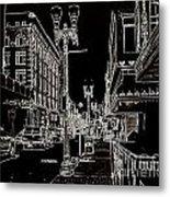 Downtown By Angelia Metal Print