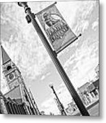 Downtown Cheyenne Metal Print