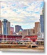 Downtown Cincinnati 9885 Metal Print