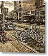 Downtown Coeur D'alene Idaho Metal Print