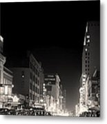 Downtown Dallas 1942 Metal Print
