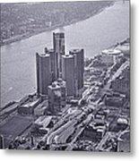 Downtown Detroit Metal Print