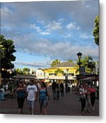 Downtown Disney Anaheim - 12124 Metal Print