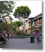 Downtown Disney Anaheim - 12128 Metal Print