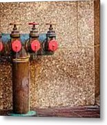 Downtown Extinguisher  Metal Print