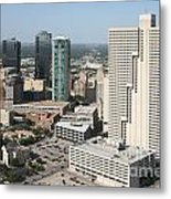 Downtown Fort Worth Skyline Metal Print