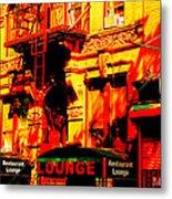 Downtown Heatwave  Metal Print
