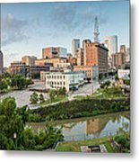 Downtown Houston From Uh-d. September Metal Print by Silvio Ligutti
