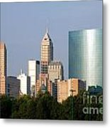 Downtown Indianapolis Indiana Metal Print