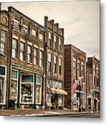 Downtown Jonesborough Metal Print