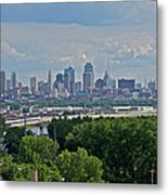 Downtown Kansas City From The Northland Metal Print