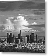 Downtown La Metal Print
