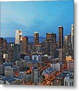 Downtown Los Angeles Metal Print by Kelley King