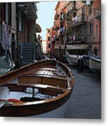 Downtown Manarola Metal Print