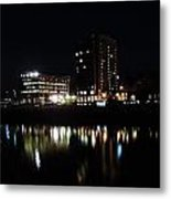 Downtown Morgantown From The Waterfront Metal Print