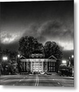 Downtown Murphy Nc In Black And White Metal Print