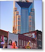 Downtown Nashville Metal Print