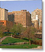 Downtown Omaha Ne Metal Print