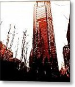 Downtown Pittsburgh Metal Print