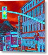 Downtown Prescott Arizona  Metal Print