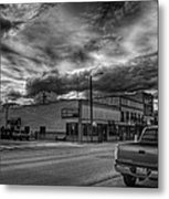 Downtown Sandpoint In Infrared 2 Metal Print
