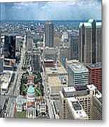 Downtown St. Louis Metal Print