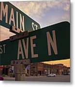 Downtown State Center Metal Print