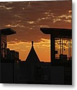 Downtown Sunrise Metal Print