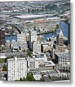 Downtown Tacoma Washington Metal Print