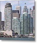 Downtown Toronto Ontario Metal Print