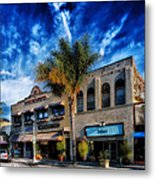 Downtown Ventura Metal Print