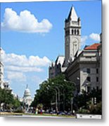 Downtown Washington Metal Print
