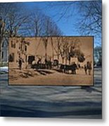 Dr. Isaac B. Cowen At The Little Compton Commons In Rhode Island Metal Print