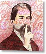 Dr. John Pemberton Inventor Of Coca-cola Metal Print