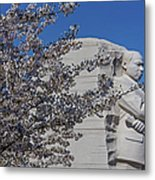 Dr Martin Luther King Jr Memorial Metal Print